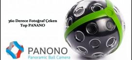 360 Derece Fotoğraf Çeken Top Makina (Panano)