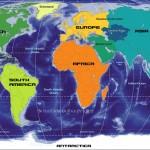 Dünya Kıtalar Haritası