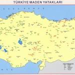 madenler haritası türkiye