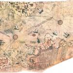 piri reis'in çizdiği ilk dünya haritası